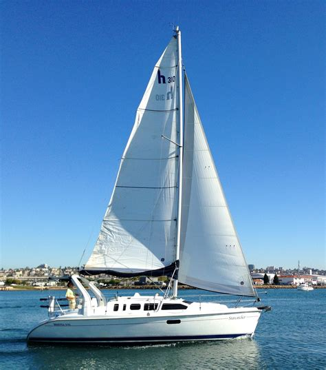 Sailboats Videos by Hunter 310 Sailboat 1999 For Sale In San Diego California