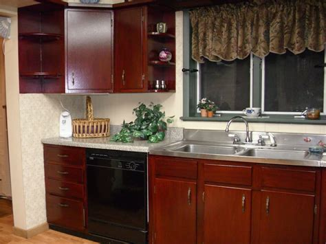 kitchen cabinets staining wood diy home improvement oak darker remodelaholic diy refinished
