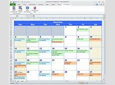 Calendar Excel calendar monthly printable