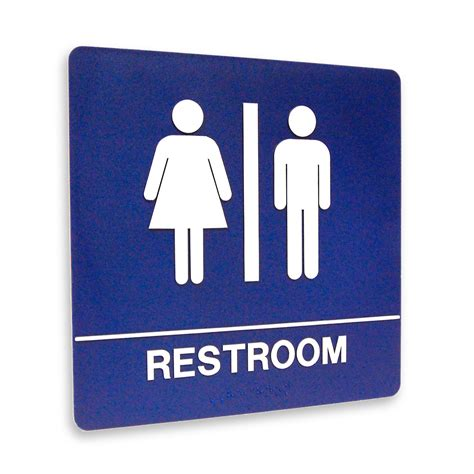 restroom signs printable clipart best