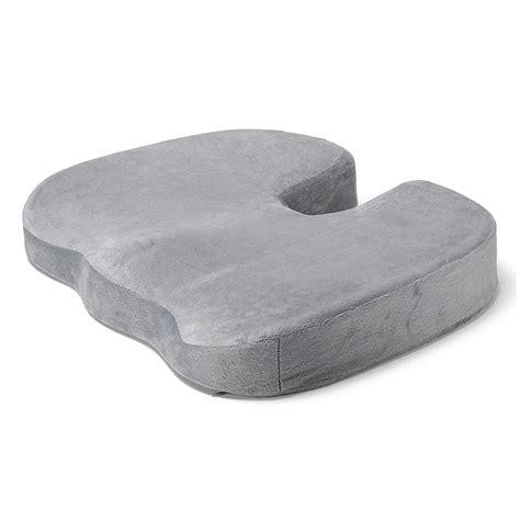 coccyx orthopedic gel enhanced comfort memory foam seat