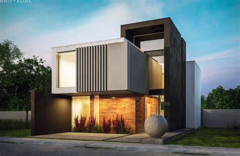 Home Design Minimalist House 2019 New White And Wood In