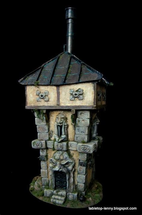 ``the Watchtower´´ Fantasy House For Miniature Wargaming