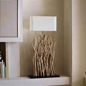 Holz Dekoration Modern : holz lampen selber machen deko mit zweigen im naturlook ~ Markanthonyermac.com Haus und Dekorationen