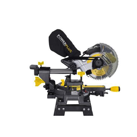 Afkortzaag Powerplus 1600 Watt powerplus 190mm 1400 watt mitre saw ukhs tv tools to go