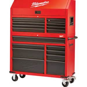 milwaukee 46 inch steel tool storage chest and cabinet a concord carpenter