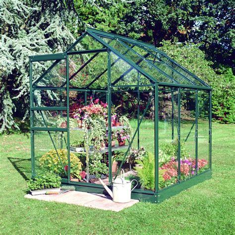 serre de jardin 3 8m 178 verte en verre horticole popular halls