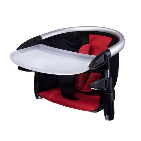 phil teds lobster portable high chair with tray in 1200
