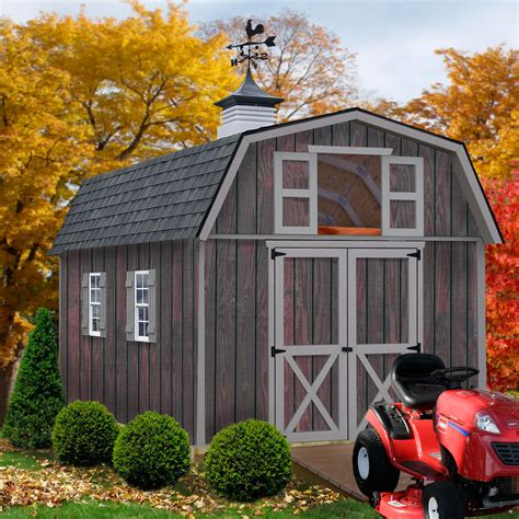 best barns woodville1012 10 x 12 woodville storage shed kit