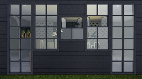 Basic Square Window By Minc's Sims4