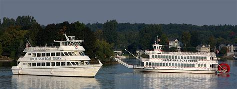 Uncle Sam Boat Tour Shuttle by Uncle Sam Boat Tours 1000 Islands Boat Tours In