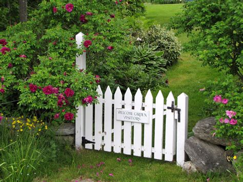 Garden Gate  Country Cottage Garden Pinterest
