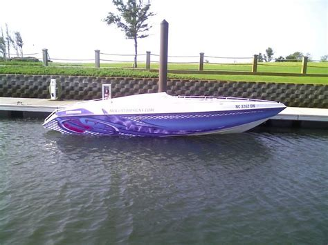 Ski Boat Paint Jobs by Boat Wrap Gelcoat Paint Offshoreonly