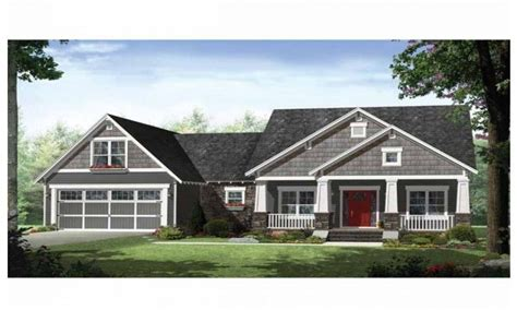 single story house plans with porches pictures single story craftsman style homes craftsman style ranch