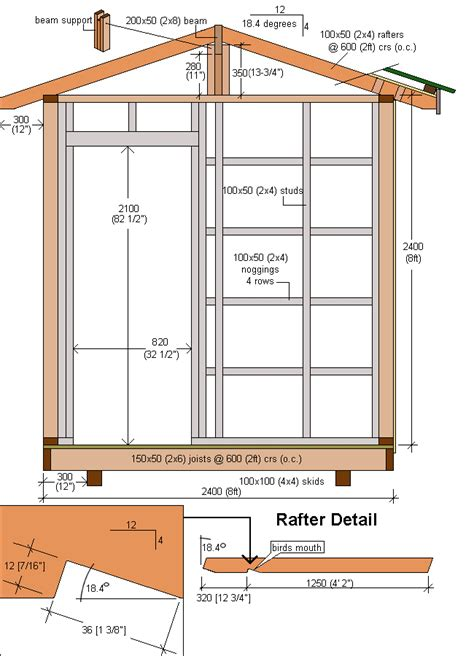 shed plans how to