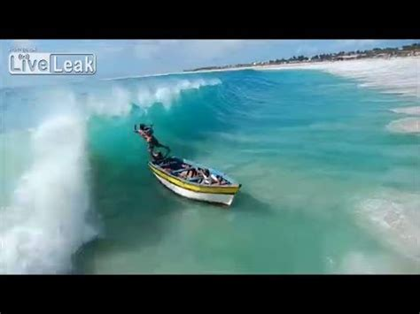 Driving Boat In Waves by Small Boat Gets Smashed By Hard Waves Youtube