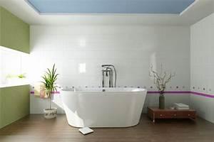 Badezimmer Farbe Wasserfest : wanddekoration im badezimmer farben bilder deko f r 39 s bad ~ Markanthonyermac.com Haus und Dekorationen