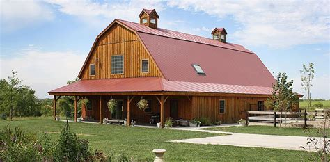 barn homes for barn wood home great plains gambrel barn home project