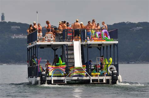 Austin Party Boat Rentals by Lakeway Marina Party Boats