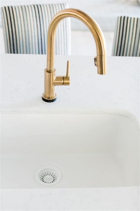 unlacquered brass kitchen faucets best faucets decoration