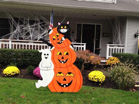 Nightmare Before Christmas Tree Topper Ebay by 100 Pumpkin Halloween Yard Stakes Pumpkin Scarecrow