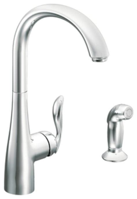 Moen Arbor Kitchen Faucet Stainless by Moen Arbor Stainless Single Handle Kitchen Faucet