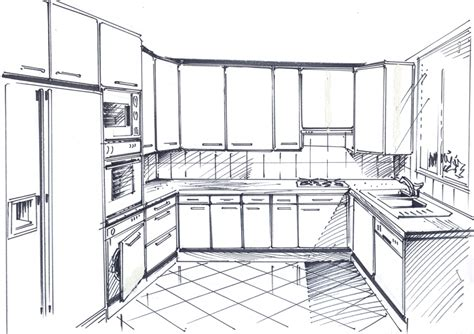 dessiner en perspective une cuisine photos de conception de maison agaroth
