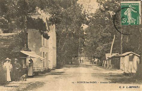 news de ronce les bains cartes postales anciennes sur cparama