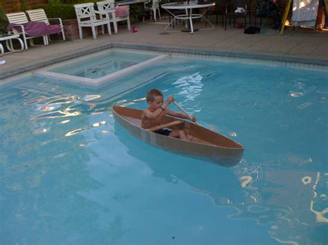 Easy Cardboard Boat Making by How To Build A Kayak