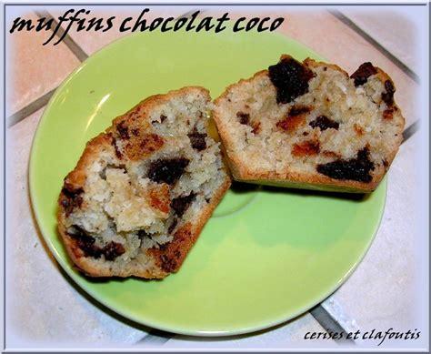 muffins farine d epeautre chocolat coco sans oeufs sans beurre recette