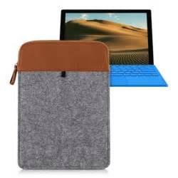 kwmobile housse pour tablette sleeve en feutre pour microsoft surface pro 4 pochette 233 tui en