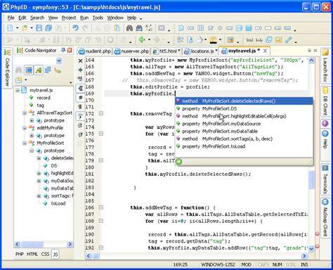 Javascript Editor In Nusphere Phped
