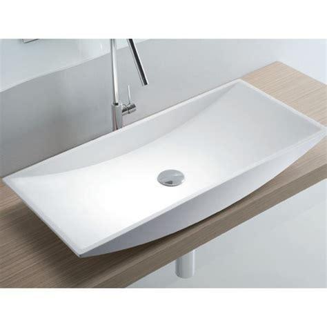 marvelous grande vasque a poser 4 grande vasque 224 poser rectangulaire 74x35 cm c 233 ramique