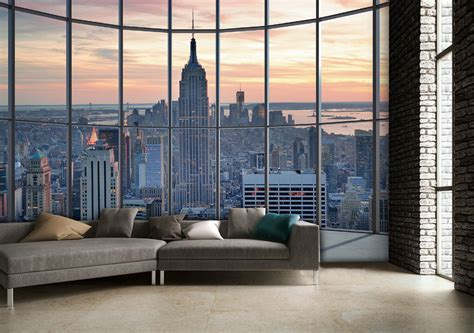 new york empire state building wall mural buy at europosters