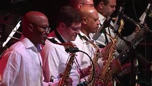 Christian McBride Big Band performing at the SFJAZZ Center ...