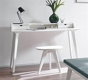 Möbel Sekretär Modern : moderner sekret r und schreibtisch im retrostil buche wei narva ~ Markanthonyermac.com Haus und Dekorationen