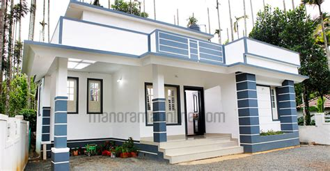 8 Lakhs Modern Kerala Style Budget Home In 730 Sq Ft