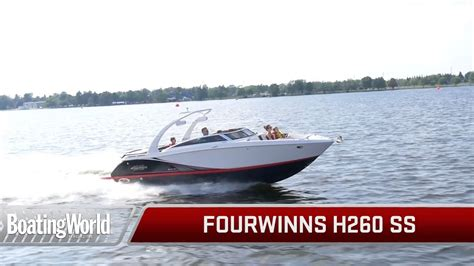 Four Winns Boats Youtube fourwinns h260 ss youtube