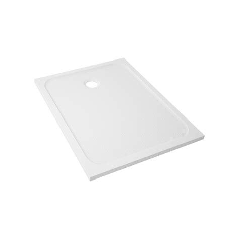 receveur de rectangulaire l 100 x l 80 cm r 233 sine blanc mila leroy merlin