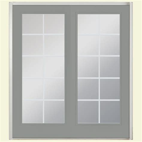 Masonite Patio Doors With Sidelites Masonite 72 In X 80 In Prehung Right Inswing 10