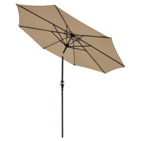 9 ft aluminum outdoor patio umbrella market yard w crank tilt 4 color ebay