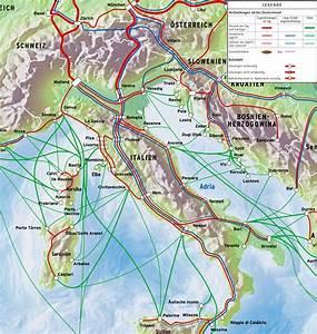 Italienische Schweiz Karte : italien anreise mit zug und bus fahrradmitnahme zugverkehr im land ~ Markanthonyermac.com Haus und Dekorationen