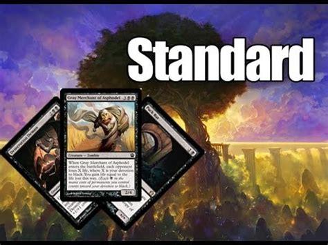 mtg standard deck tech b g merchant theros standard