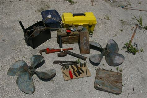Boat Props Fort Pierce by Diy Haul Out At Crackerboy Boat Yard In Fort Pierce