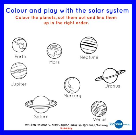 Fruity Solar System  Free Printable  Food Fun For Kids