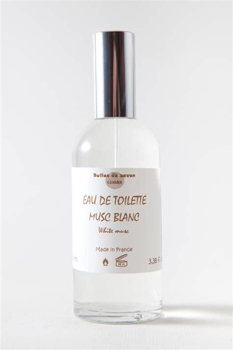 eau de toilette musc blanc bulles de savon savonnerie artisanale cannes