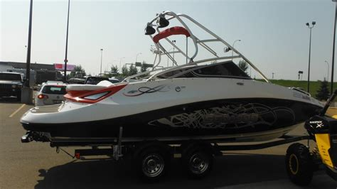 Wake Boat Dealers by Sea Doo 230 Wake 2008 Used Boat For Sale In Edmonton