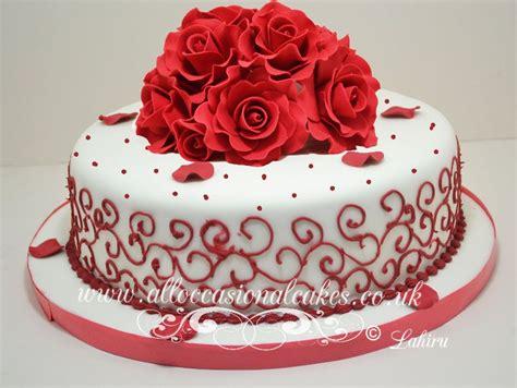 anniversary cake images ruby anniversary cake