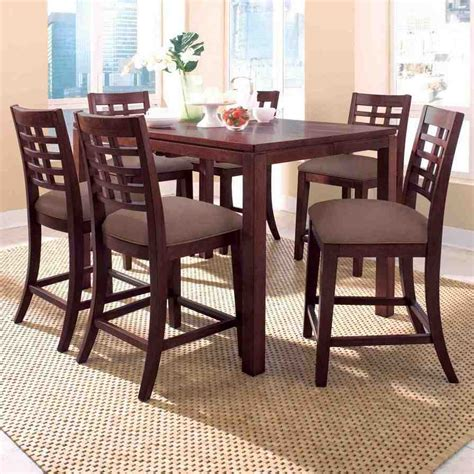 High Top Dining Set And Chairs  Home Furniture Design
