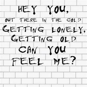 Pink Floyd,,,Hey you,,,, Can you feel me,,, D.H. | Pink ...